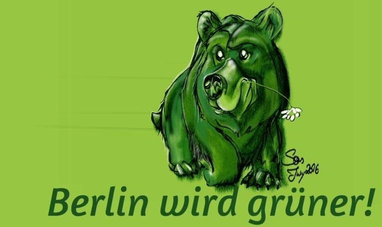bear-Berlin wird grüner
